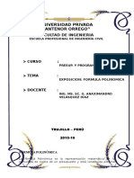 1 Formula Polinomica