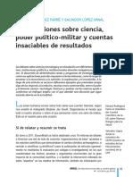 Ciencia Poder Politico-militar y Cuentas Resultados E.rodriguez S.lopez