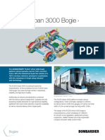Bombardier Transportation FLEXX Urban 3000 Bogie