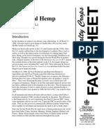 Hemp Facts (Canada)