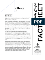 Hemp Facts (Canada)