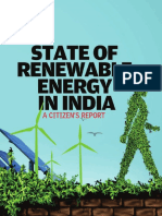 State of Renewable Energy in India