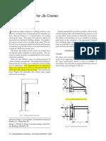 Design Concepts for Jib Cranes 1