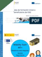 Presentacion de la Mobility Tool