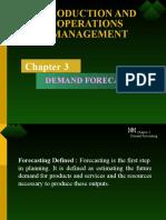 Ch-3 Demand Forecasting