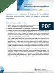 El Impacto de Las Politicas Laborales Contraciclicas Sobre El Empleo Asalariado Registrado