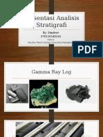 Presentasi Analisis Stratigrafi