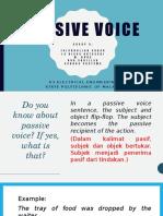 Passive Voice Presentasi Grup 5