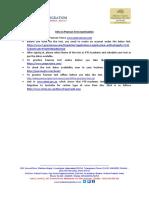 Info on Pearson Test Examination