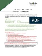 Rregullat e Eurosong