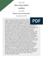 Holland v. Jackson, 542 U.S. 649 (2004)