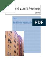 Tema 4 Rehabilitacion Energética