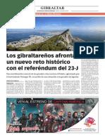 160429 La Verdad CG-Los Gibraltareños Afrontan Un Nuevo Reto Histórico Con El Referéndum Del 23-J Pp.8 y 9