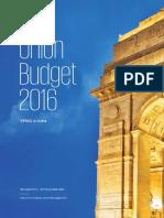 KPMG Union Budget 2016 V2