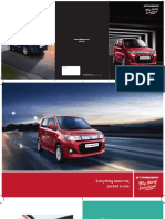 Maruti Suzuki Stingray Car Specification by DD Motors