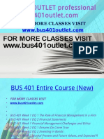 BUS 401 OUTLET Professional Tutorbus401outlet.com
