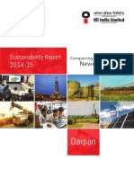Oil Sustainibility Report