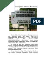 Laporan PLK Karangploso Malang