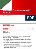 Plsql Appa l3 Review SQL Joins