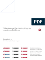 f5 Professional Certification Guidelines