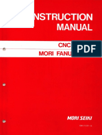 Mori Seiki Fanuc 15TF CNC Lathe Instruction Manual(OM-F15TF-1E)
