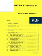 Fanuc System 3T-Model D Operator's Manual(B-53504E 02)