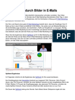 +140% Klicks durch Bilder in E-Mails