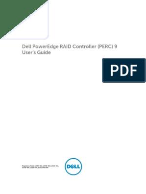 Poweredge Rc h730p User's Guide en Us | Bios | Operating System