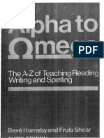 Alpha to Omega Spelling Guide