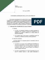 Acuerdos Junta de Síndicos UPR