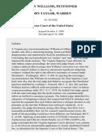 Williams v. Taylor, 529 U.S. 362 (2000)