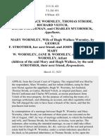 Wormley v. Wormley, 21 U.S. 421 (1823)