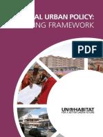 National Urban Policy