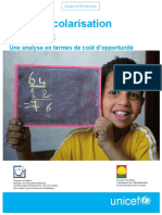 La_non_scolarisation_au_Maroc- Coût de Non Scolarisation