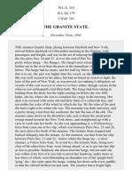 The Granite State, 70 U.S. 310 (1866)