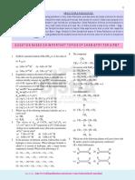Important Topics of Chemistry