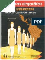 Antropometria latinoamericana