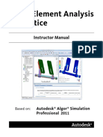 Fea in Practice 2011 Instructor Manual