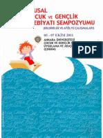 Çocuk Edebiyatı Yapıtlarında Karakter Çerçevesinin Oluşturulmasında Cinsiyet Rollerinin Sunuluşu