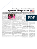 April 27 - May 3, 2016  Sports Reporter