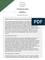 United States v. Crusell, 81 U.S. 1 (1872)