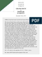 Grand Chute v. Winegar, 82 U.S. 373 (1873)