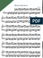 Bach Preludio y Fuga #2