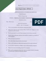 University Question Paper 2009-2015