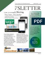 Feb 2010 CT UPA Newsletter