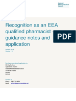 Pharmacist Recognition Eea