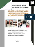 Renzo Lizárraga, Obra Por Impuestos