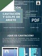 Prevención de La Cavitación y Golpe de Ariete