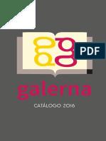 Catalogo Galerna Libros 2016