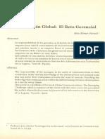 Comunicación Global_El Reto Gerencial